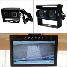 Cámara doble con 7 pulgadas de pantalla completamente camara de vision trasera sistema Hymer Dethleffs