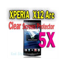5X Clear Screen Protector Sony Ericsson Xperia Arc X12 S