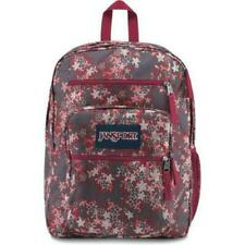 Brand New * Authentic * JanSport Big Student Backpack Bag Brown Floral Nwt