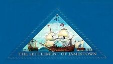The Settlement of Jamestown 400th Anniversary 2007 U.S. Stamp #4136 Triangle