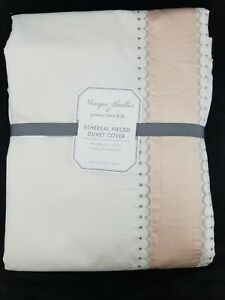 Pottery Barn Kids Monique Lhuillier Ethereal Pieced Duvet Cover Twin #3700