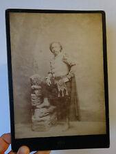 Costume MENESTREL photo Cabinet RAPHAEL ROYER NIMES 1885