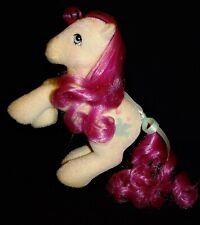 My Little Pony 🕊️❤️ TRULY ❤️🕊️ So Soft Ponies (1986) MLP G1 SS Flocked