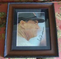 Ted Williams AUTOGRAPHED 8X10 PHOTO FULL LETTER BECKETT HOF Red Sox