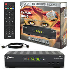 HDTV HD Digital SAT Receiver COMAG HD45 +HDMI Kabel HD 45 DVB-S2 USB ► PVR Ready