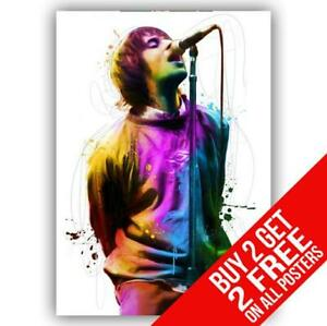 LIAM GALLAGHER OASIS POSTER ART PRINT A4 A3 SIZE - BUY 2 GET ANY 2 FREE
