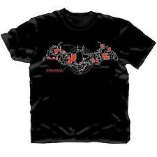 Batman Arkham City Skematic Bat Logo T-Shirt Tg. M DC DIRECT