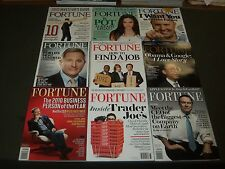 2009-2015 FORTUNE MAGAZINE LOT OF 27 - GREAT COVERS & PHOTOS - O 2016