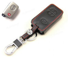 Leather Case Cover Holder For Toyota Prius Venza RAV4 4Runner Remote Smart Key