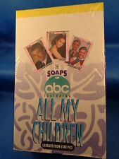 ALL MY CHILDREN - 1991 STAR PICS (36) ABC SOAPS PACKS - NON-SPORT *LQQK*
