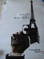 "From Paris With Love, John Travolta Jonathan Rhys Meyers Movie Poster, 27"" x 40"""