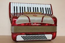 Accordion Hohner Lucia IIP 80 bass Akkordeon Fisarmonica In Top Condition + Case