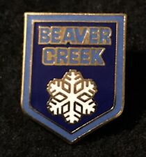 BEAVER CREEK Skiing Ski Pin Badge COLORADO CO Resort Souvenir Travel Lapel