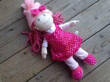 WINTERSET Kleidung KLEID 5-tlg. für HABA Puppen Gr. 30 Lilli Nele Glitzer + pink
