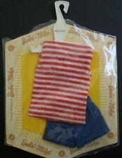 Vintage Nrfc Moc Mattel Barbie Pak - Knit Shirt & Shorts