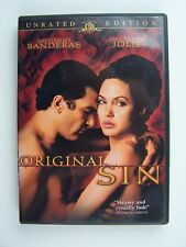 Original Sin Unrated Edition DVD Antonio Banderas Angelina Jolie