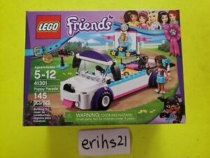 BRAND NEW AND SEALED LEGO Friends 41301 Puppy Parade NEW SEALED RETIRED Set