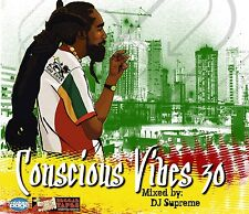 CONSCIOUS VIBES VOL 30  REGGAE ROOTS CULTURE LOVERS ROCK MIX CD