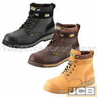 VA Water Resistant Black Leather Work Safety Shoes Steel Toe Cap Mid Sole S3 SRC