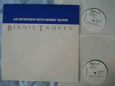 Bernie Taupin - An Interview With Bernie Taupin 2LP WLP 1987 promo Elton John