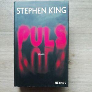 Stephen King, Puls, Heyne Verlag, Gebundenes Buch, Roman