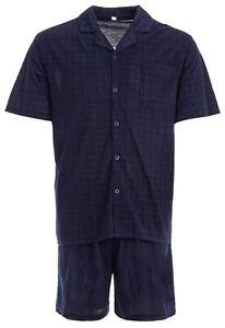 Men's Shorty T-Shirt Pajamas With Short Trousers Pyjama plus Size M-5XL