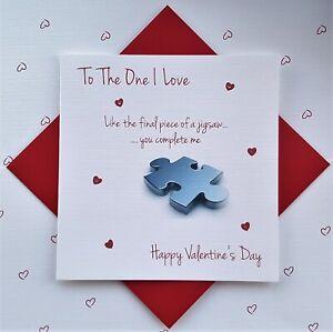 Valentine's Jigsaw card. To the one I love