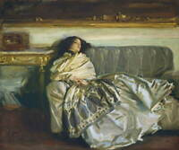 John Singer Sargent Repose Poster Reproduction Paintings Giclee Canvas Print