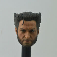 X-Men:Days of Future Past Wolverine Head Sculpt 1/6 Fit 12'' Action Figure Angry
