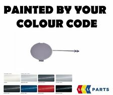 NEW VW CADDY 03-15 REAR BUMPER TOW HOOK COVER CAP PAINTED BY YOUR COLOUR CODE