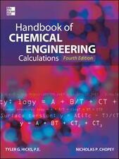 Handbook of Chemical Engineering Calculations Mechanical Engineering