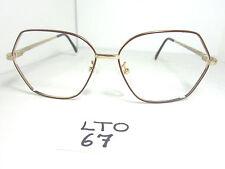 Vtg 80s GLORIA VANDERBILT Sun Eyeglass Frame by Zyloware M5 Red Gold (LTO-67)