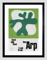 AD SWITZERLAND CULTURAL HANS ARP DADA SURREALISM FRAMED ART PRINT B12X4406