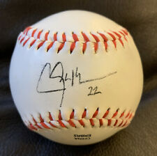 CLAYTON KERSHAW AUTOGRAPHED BASEBALL - LOS ANGELES DODGERS