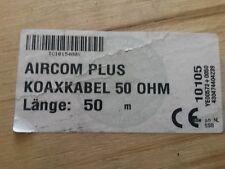 AirCom 50 Ohm Coaxial Cable w/ Non-Contaminating Jacket - 100 Feet