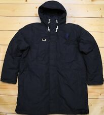 THE NORTH FACE HIMALAYAN LONG PARKA DOWN insulated MEN'S NAVY HERITAGE COAT - XL