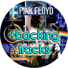 PINK FLOYD BASS & GUITAR TAB LESSONS CD+ BACKING TRACKS MUSIC SONG E-BOOK ALBUM