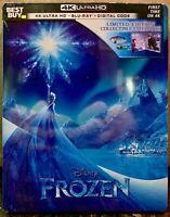 Brand New! Frozen Steelbook (4K UHD, Blu-ray, Digital Code) Best Buy Exclusive