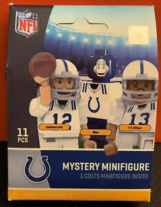 ANDREW LUCK T.Y HILTON BLUE MASCOT INDIANAPOLIS COLTS MYSTERY PACK MINIFIGURE