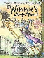 """VERY GOOD"" Winnie's Magic Wand, Thomas, Valerie, Book"