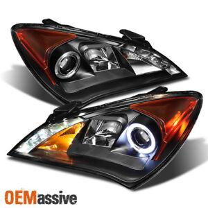 100W Halogen Passenger side WITH install kit 2012 Hyundai GENESIS COUPE Post mount spotlight 6 inch -Black