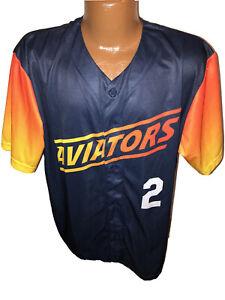 Las Vegas Aviators PROMO SGA Giveaway Baseball Jersey Size XL