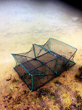 Nr. 30A Krebskorb 60cm x 43cm x 22cm, Krabbenreuse, crab trap 2 Einläufe, Reusen