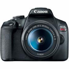 Cámara SLR Canon EOS Rebel T7 24.1MP D con EF-S 18-55mm Lente IS II