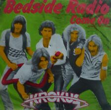 """7"""" 1980 SWISS ROCK RARE IN MINT -! Krokus Bedside Radio"""