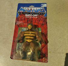 Motu Vintage original 1983 buzz off sealed card he-man masters figure