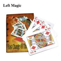 Fast Change Of Three King Magic Tricks Card Colse Up Magic Props Street Magic