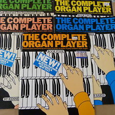 COMPLETE ORGANPLAYER SONGBOOK Book 1+1 sup+2+3+4, Kenneth Baker