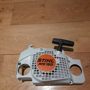 NEW GENUINE STIHL MS180 CHAINSAW RECOIL PULL STARTER COMPLETE 1130 084 1007