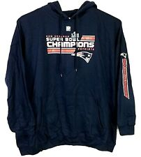 New England Patriots Men's Size 6XL Hoodie Superbowl Champs Majestic NWT